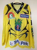 HC FRIBOURG-GOTTERON Swiss 90s hockey shirt jersey trikot #90