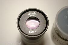 KW15 Unitron Tiyoda Tokyo KW15x eyepiece okular ocular microscope 23,2mm Japan
