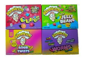 Warheads Sour Jelly Beans / Chewy Cubes/ Worms/ Twists 113g Retro American Candy