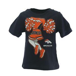 Denver Broncos Official NFL Baby Infant Toddler Girls Size T-Shirt New Tags