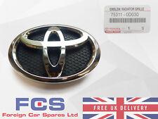 * Nuevo * Genuino 05-11 Panel Frontal Toyota Yaris emblema insignia de la parrilla 75311-0D030