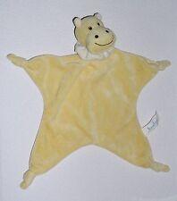 Bambia HIPPO in gelb Nilpferd als ein Schmusetuch Schnuffeltuch Kuscheltuch *