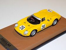 1/43 Looksmart Ferrari 250 LM 1965 24 Hours of LeMans 2nd Place Finisher Leather