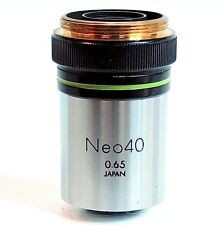 OLYMPUS Objective Neo 40 0.65 RMS M25 Tested Clean Clear Image JAPAN #238