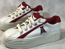 Vintage Alabama Crimson Tide Womens Platform Sneakers Size 6 Football Shoes
