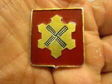 WWII / Occupation 368th Engineer Regiment Pinback DI ~ GERMAN MADE Aluminum DI