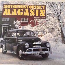 Motorhistoriskt Magasin Magazine Lopp 30 Pontiac No.6 1995 071017nonrh
