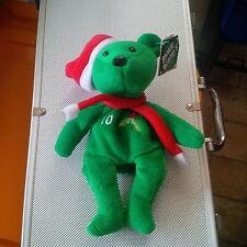 BAMM BEANOS Chipper Jones Christmas / Holiday BEAR Free Shipping