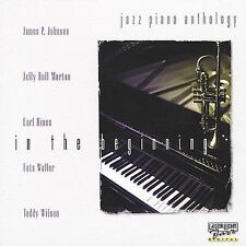 Jazz Piano Anthology: In the Beginning by Various Artists (CD) Free Ship #FZ39