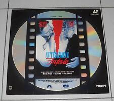 Laser Disc ATTRAZIONE FATALE Michael Douglas Glenn Close ITA LD Laserdisc