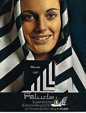 PUBLICITE  1971   L.T PIVER   parfum PRELUDE