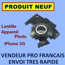 ✖ LENTILLE CAMERA ANNEAU CHROME MODULE ✖ IPHONE 3G ✖ LENS APPAREIL PHOTO NEUF ✖