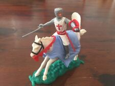 Timpo Crusader/ Knight of St John Mounted - Rare Red Scabbard - Medieval Ages