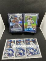 Bo Bichette 2020 Topps Chrome Rookie Card RC Silver Refractor Lot (5) Invest 📈