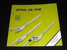 Stihl HL KM Betriebsanleitung Bedienungsanleitung Anweisung Gebrauchsanleitung