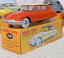Sublime Vraie Dinky toys France Citroen DS 19 24CP état unique + boite origine