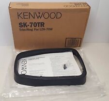 Anello Kenwood SK-70TR Trim per l'uso con LZH-70W Monitor Schermo DI MONTAGGIO A TETTO NOS#438