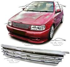 FRONT CHROME GRILL FOR VW POLO 6N 94-99 SPOILER BODY KIT NEW
