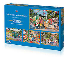 Gibsons - 4 X 500 PIECE JIGSAW PUZZLES - Mitchell's Mobile Shop