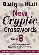 Daily Mail New Cryptic Crosswords vol 8 BRAND NEW BOOK (Paperback 2009)