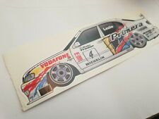 David Leslie 1997 BTCC sticker Nissan Primera GT decal
