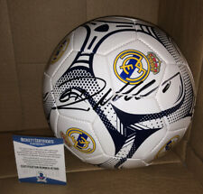 CRISTIANO RONALDO SIGNED REAL MADRID SOCCER BALL BECKETT BAS COA