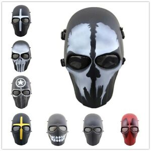 Cosplay Helmet Ghost Evil Zombie Punisher CS Game Army of Two Airsoft Skull Mask