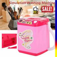 Mini Simulation Washing Machine Electric Makeup Brush Washing Machine