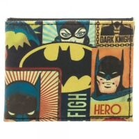 Batman The Dark Knight Trifold Wallet Licensed by DC Comics /& WB Limited Item!!