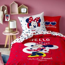 Bettwäsche Hello Disney Minnie Mouse 80 x 80 cm / 135 x 200 cm