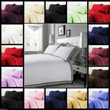 US Super King Duvet Collection Solid Color 1000 Thread Count Egyptian Cotton