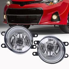 Set Clear Driving Fog Light Lamp For Toyota Camry Aurion RAV4 Yaris Kluger Lexus
