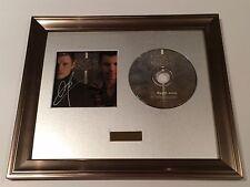 SIGNED/AUTOGRAPHED NICK CARTER & JORDAN KNIGHT CD PRESENTATION.BACKSTREET BOYS