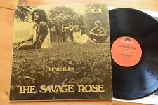 THE SAVAGE ROSE In The Plain LP Polydor 2459 326 danish prog