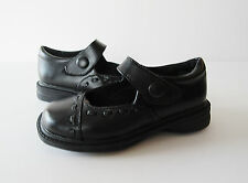 KLIX Black Leather 'Olenda' Mary Janes School Shoes Toddler Girl's Size 9 M NEW