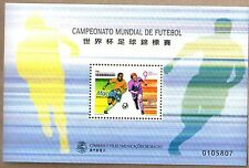 Macau Macao 1998 World Cup Football S/S Sport