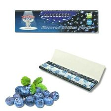 Blueberry King Size Slim Rolling Papers Hornet Flavored 32Lvs Juicy Flavors USA