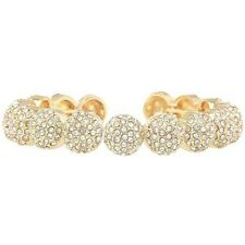 Small Round Bracelet Call4Style Gold-Tone Crystal