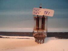 ECC83 ( 12AX7 12AX7 E83CC CV4004 ) Telefunken # <> # NEAR NOS # 17mm smooth (183