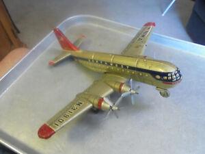 Vintage Northwest Airlines N31901 Tin Airplane Made in Japan