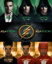 15614 el flash y Arrow Tv Show Laminado cartel UK