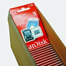 SanDisk 16GB Micro SD  SDHC Memory Card SD 16G Wholesale Samsung LG HTC Android