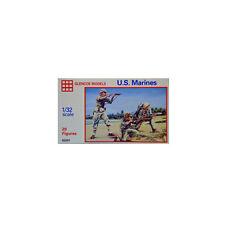 2201 1:32 20 PLASTIC FIGURES MARINES GLENCOE MODELS U.S - GALAXY RC