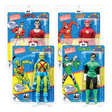 Super Powers Retro Mego Style Action Figures Series 3: Set of all 4 by FTC