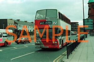 35mm Colour neg Northumbria Olympian / ECW A105 FPL - 355 Ex London Country LRC5