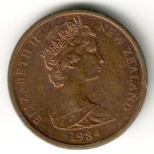 New Zealand - 1c -1984 - #1