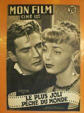 Mon Film N° 276 du 05/12/1951- Georges Marchal & Dany Robin. Susan Hayward