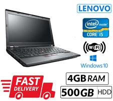 Cheap Laptop Lenovo ThinkPad X230 Intel Core i5 3rd Gene 4GB Ram 500GB HD Win 10