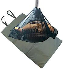 Carp  Fishing Care Padded Unhooking Mat Set With A Soft Mesh Weigh Sling NGT