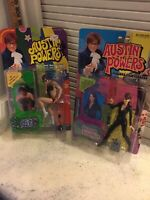 Mint 1999 McFarlane Austin Powers And Vanessa Kensington Figures Series 2